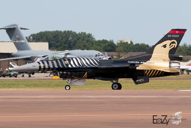 88-0029 Turkish Air Force Lockheed Martin F-16CJ Fighting Falcon