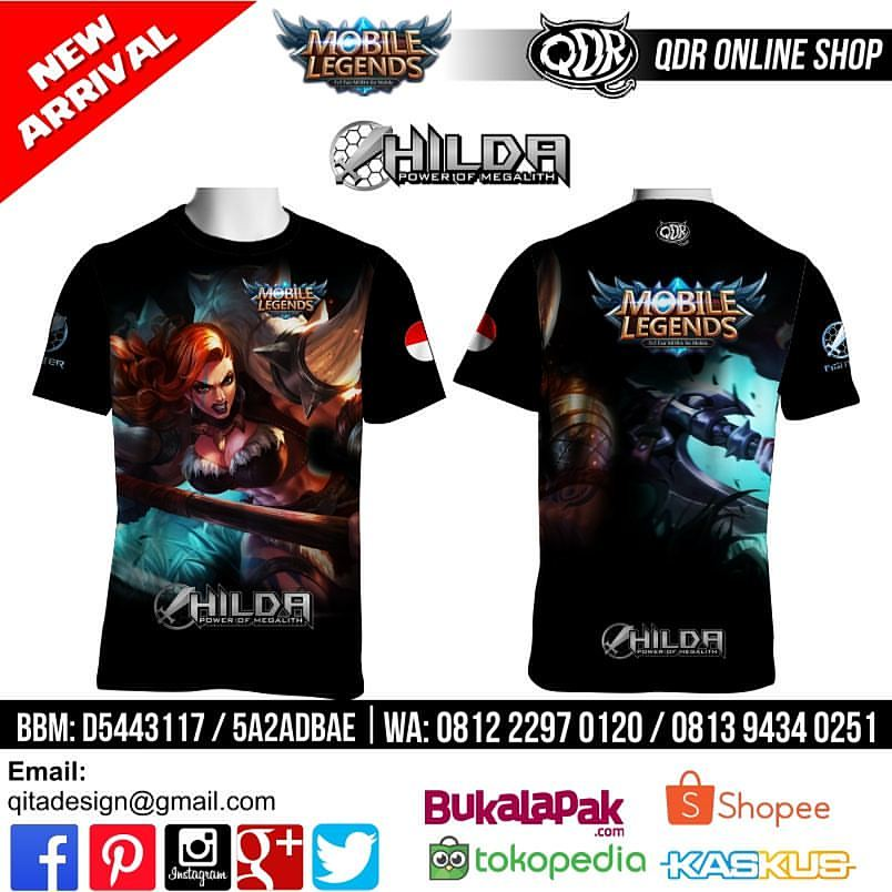 T-shirt Mobile Legends Hilda - Power of Megalith more info
