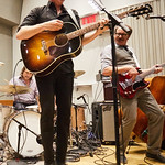 Wed, 20/09/2017 - 7:23am - Josh Ritter and his band perform for a WFUV Public Radio broadcast at Gibson Guitar Studios in New York City, 9/20/17. Hosted by Rita Houston. Photo by Gus Philippas/WFUV