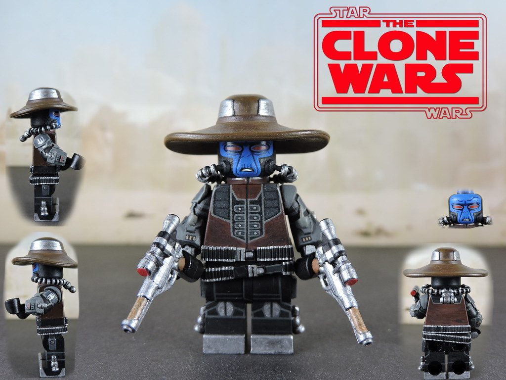 Custom LEGO Star Wars The Clone Wars: Cad Bane Minifigure | Flickr