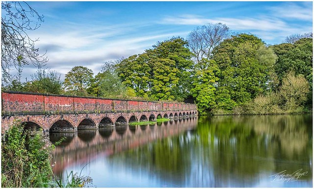 The 19 Arches at Carr Mill Dam