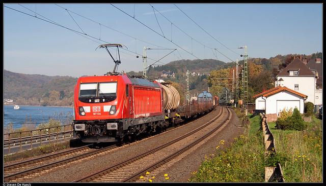 DB 187 134 @ Linz am Rhein