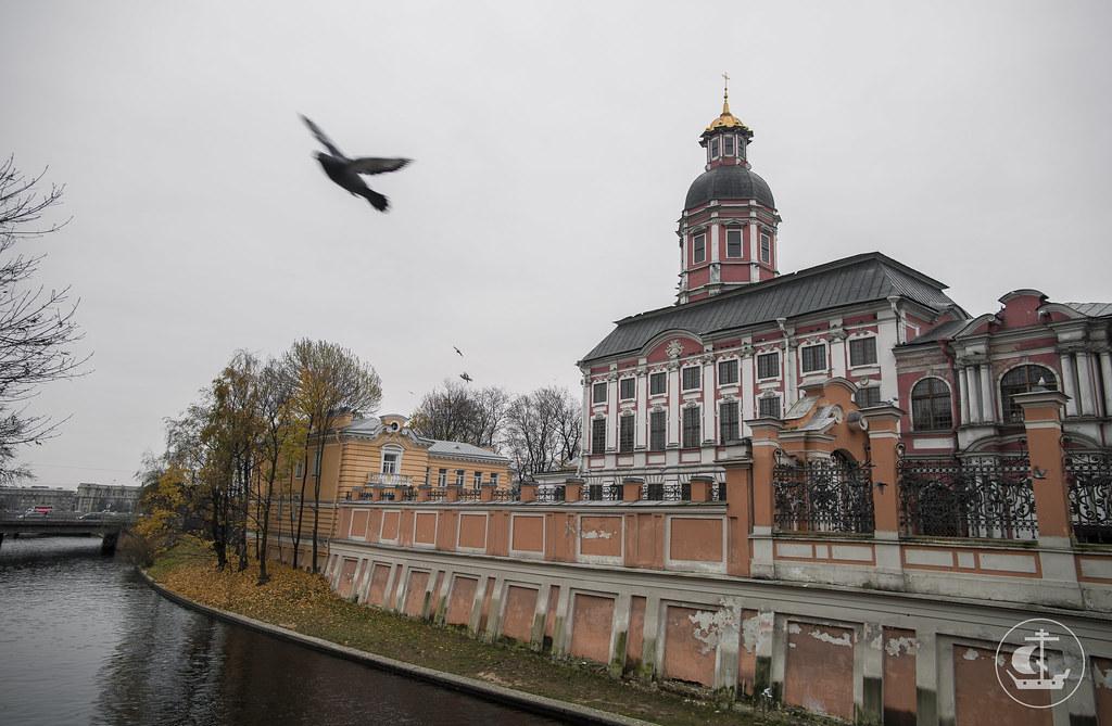 27 октября 2017, Литургия в Александро-Невской лавре / 27 October 2017, Divine Liturgy in the Alexander Nevsky Lavra