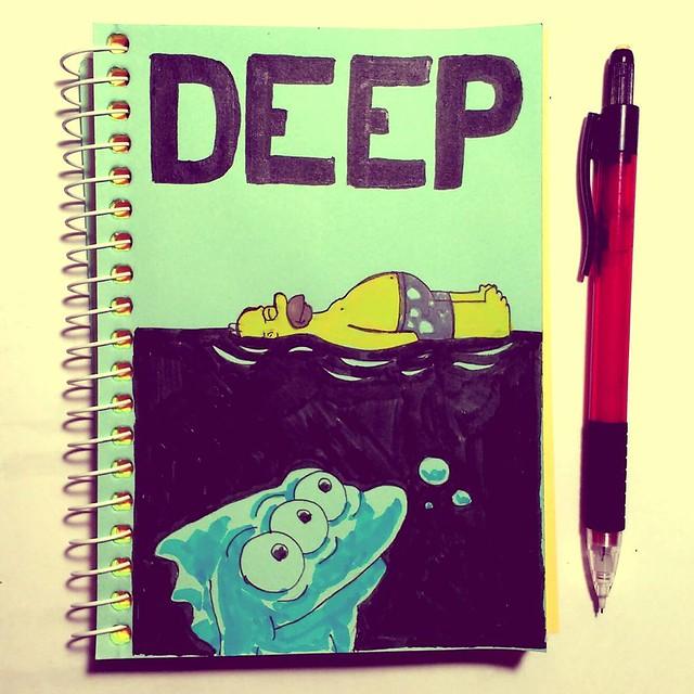 Inktober 2017 - Deep