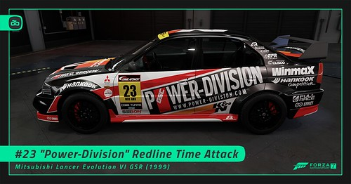 #23 Power-Division Redline Time Attack | by Alex-Banks [ABGRAPHICS]
