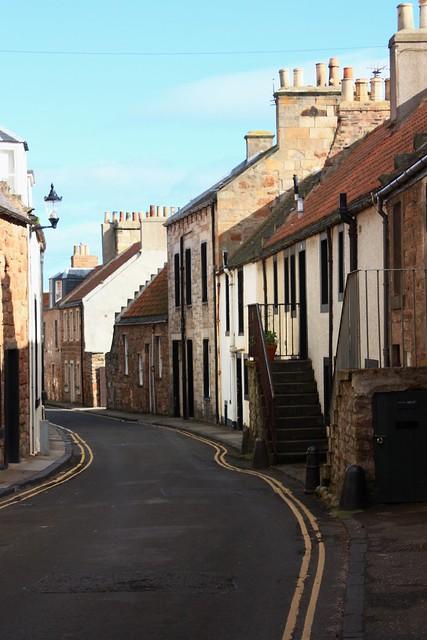 CDK1-12 Staired entrances, John Street, Cellardyke, Fife 05-10-17