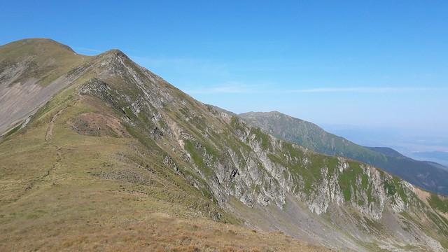 Fagaras Mountain Ridge
