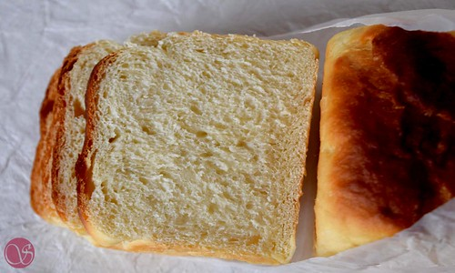 Hokkaido Milk Bread slices