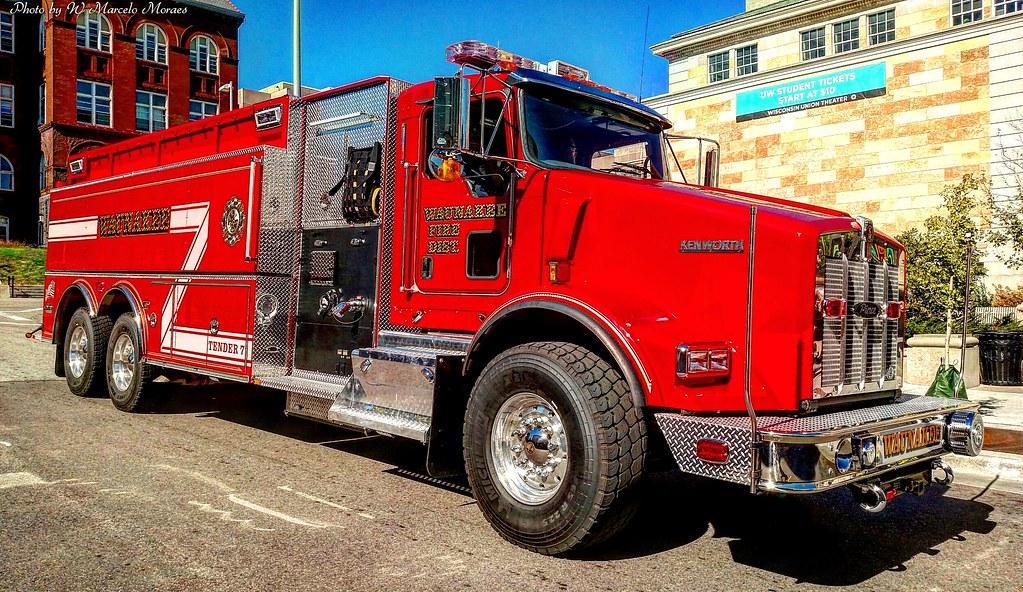 2017 Kenworth Pierce T800 - Waunakee Fire Department, WI