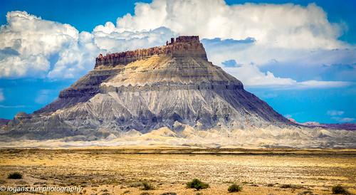 Factory Butte, Canyon Lands Utah