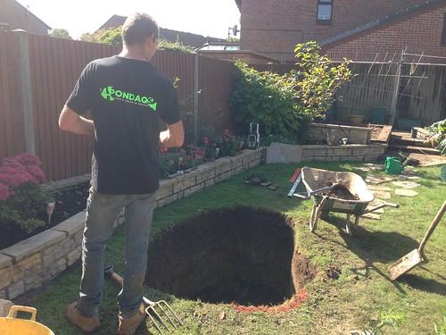 Totton pond build