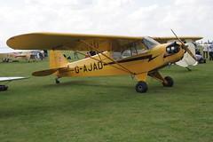 G-AJAD Piper J-3C-65 Cub [12008] Sywell 020917