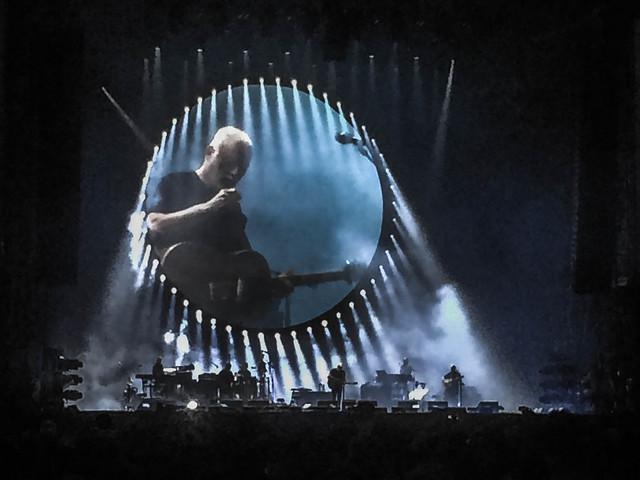 David Gilmour - comfortably numb - Arc et Senans - July 2016