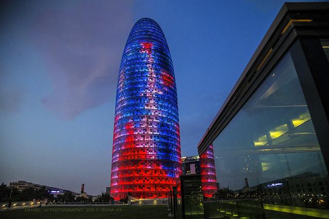 Torre Agbar, Barcelona (Explored)