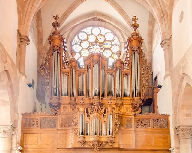 Orgue Silbermann de l'Église Saint Thomas