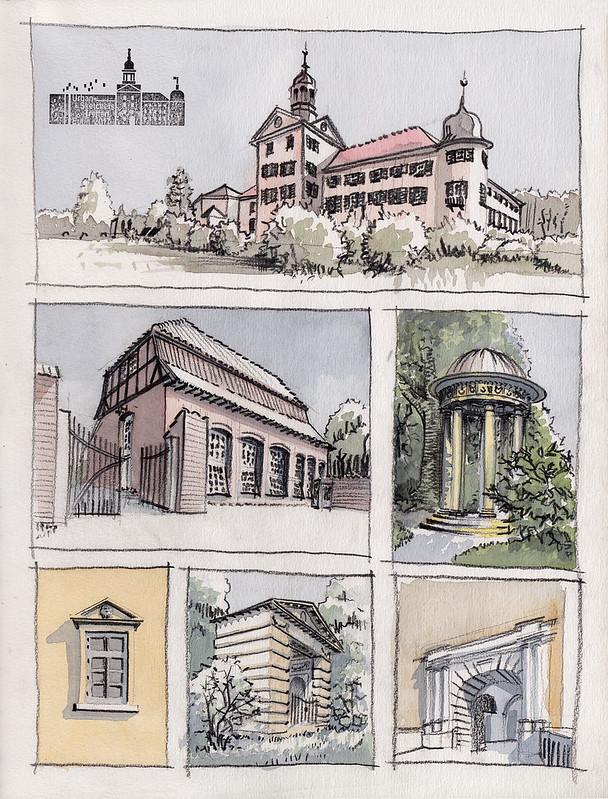 Schloss und Schlosspark Eutin · Eutin Castle and Castle Park