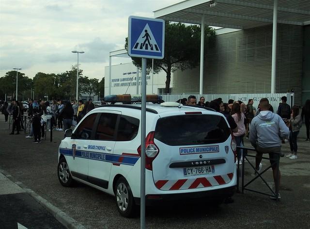Dacia Lodgy Police Municipale Agde (34 Hérault) 25-09-17a
