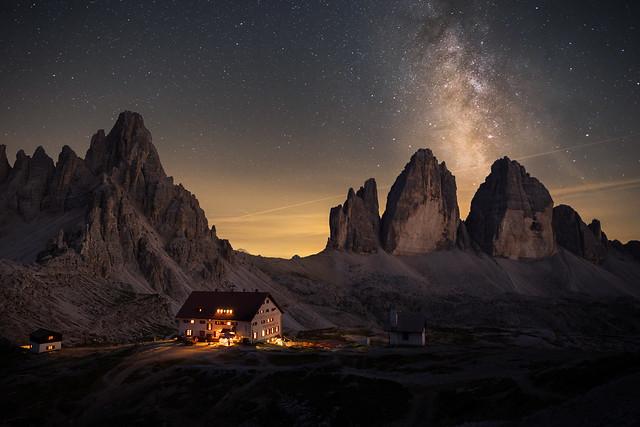 Dolomite Nightsky (explored)