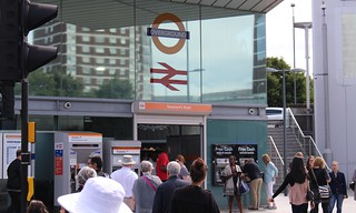 London Overground: Shepherd's Bush station | by Daniel Bowen
