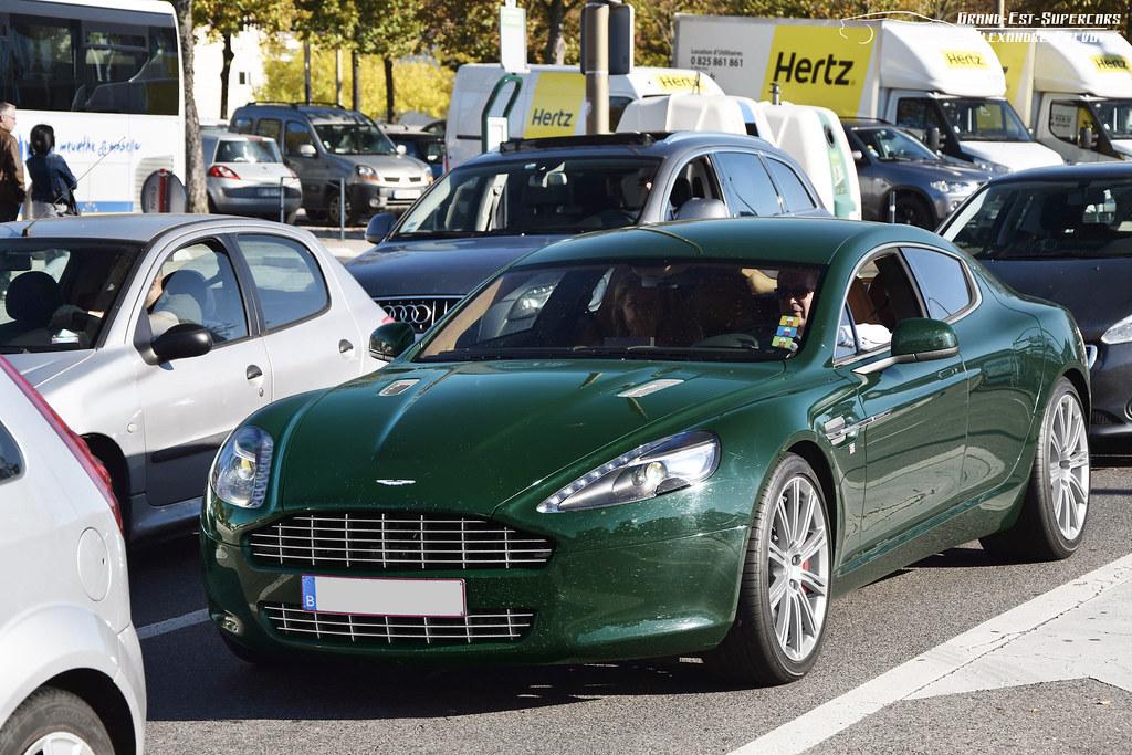 Aston Martin Rapide Couleur British Racing Green Www Gra Flickr