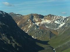 Arctic tundra valley