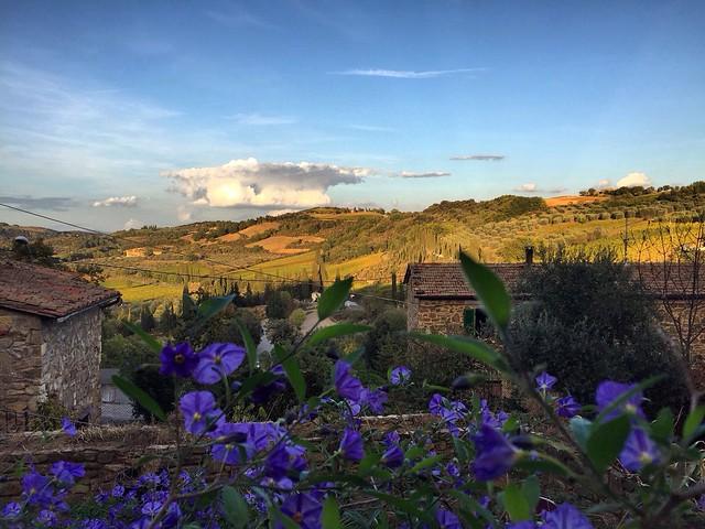 @borghettobb view! Amazing landscape! 👌👍 #like #follow #Borghetto #Montalcino #tuscany #italy #travel #discpver #landscape #nature #enjoy 😊