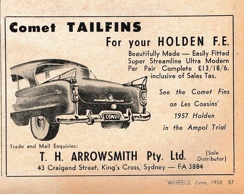 comet tail fin ad   by Roybeth1