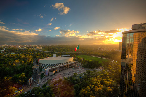 sunset aerial auditorio nacional mexico city polanco mx mex mexicocity cdmx auditorionacional landscape
