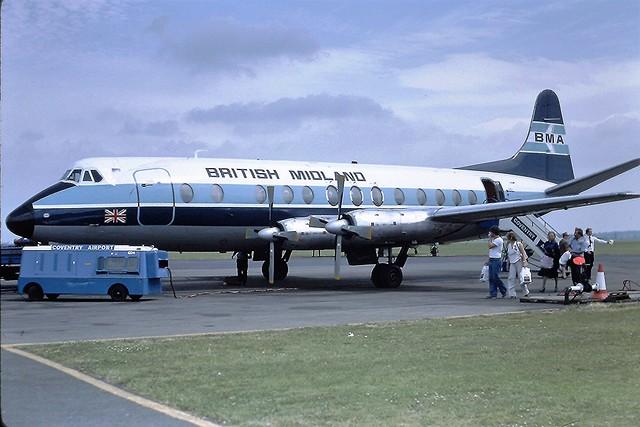 G-AZLR V Viscount BMA CVT 07-07-79