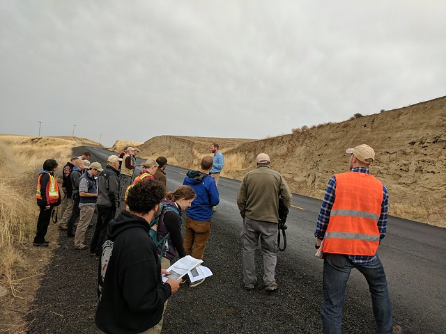 GSA field trip day 1 - learning the loess story