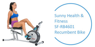Best Recumbent Exercise Bike : Sunny-Health-Fitness-SF-RB4601-Recumbent-Bike | by drillbikereviews