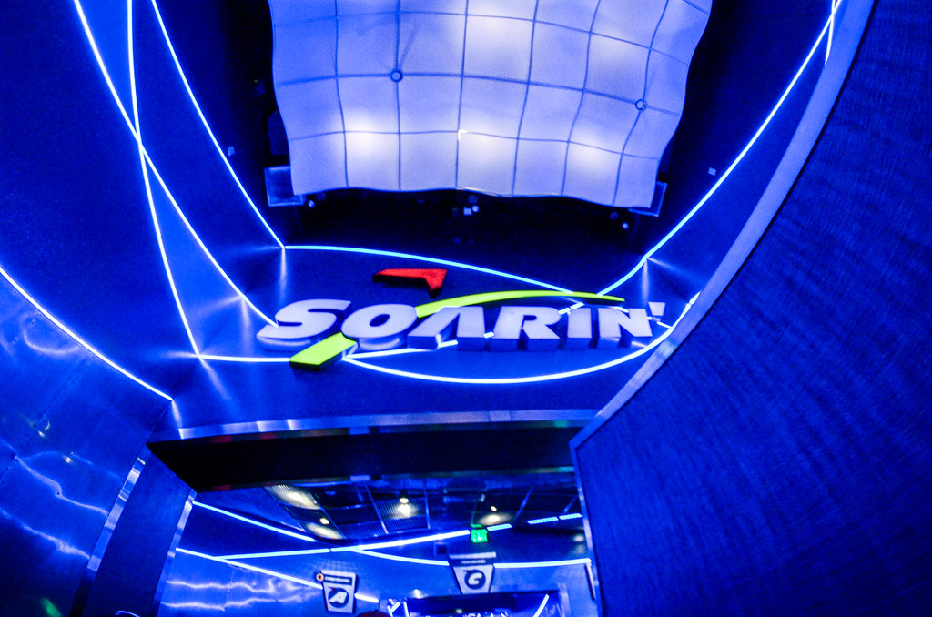 Soarin tunnel Epcot