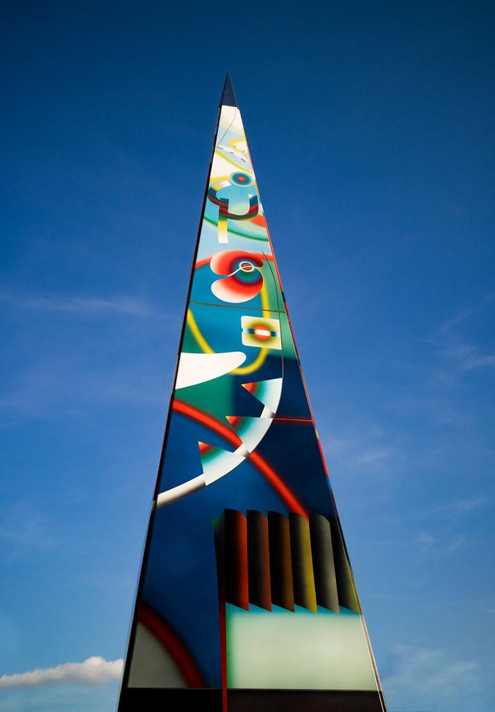 Needle of Knowledge Obelisk - Warwick University - 22 Apr 2017