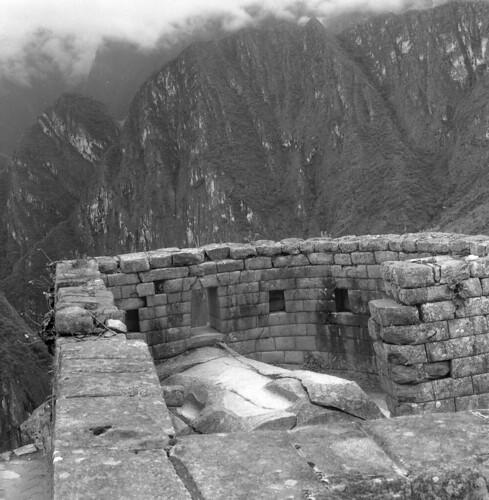 machupicchu ruins hasselblad500c scannednegative 1982