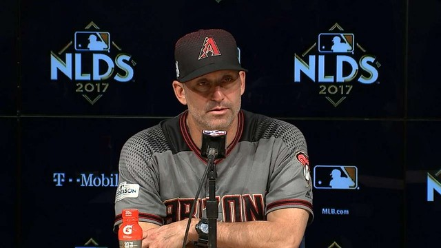 ARI@LAD Gm2: Lovullo on coming up short in Game 2
