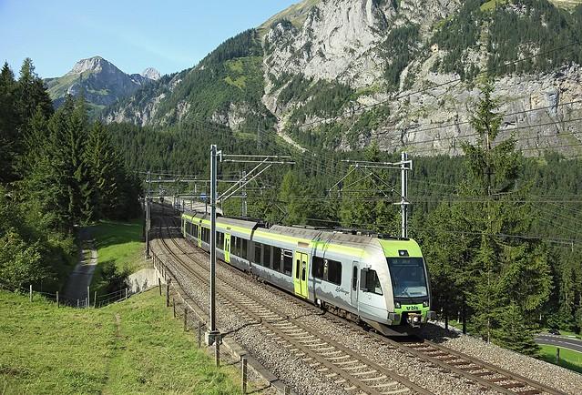 RABe 535, Kandersteg, 26 Aug 2017