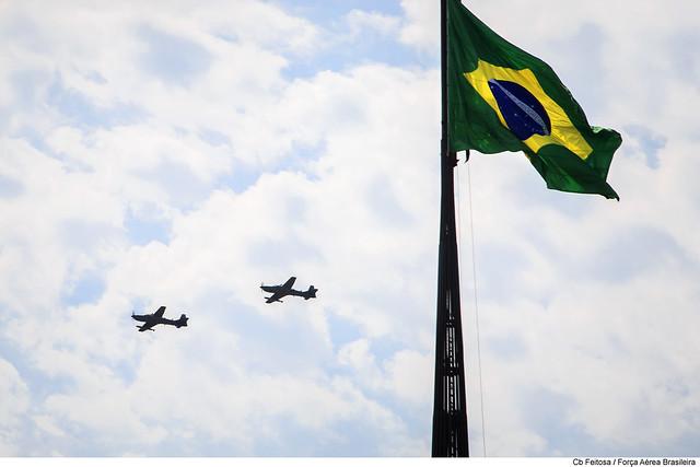 Mantendo a soberania do espaço aéreo brasileiro
