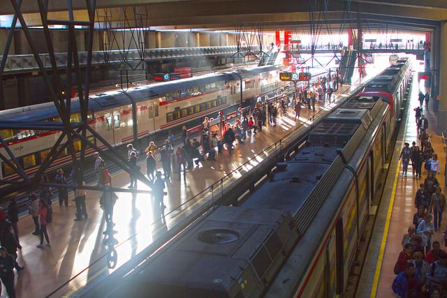 Estación Atocha: Renfe Cercanías; Madrid (2017)