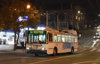 MUNI 5545 Castro and Market - San Francisco - September 7, 2017  (2)