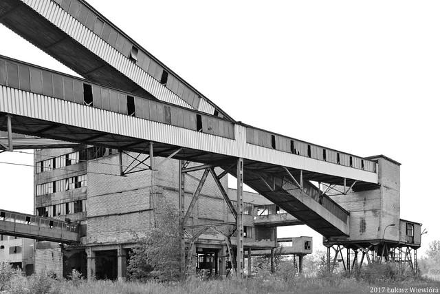 KWK Mysłowice, obiekty przeróbki mechanicznej | Mysłowice coal mine, the processing plant