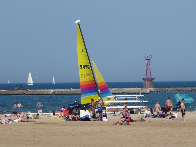 Chicago, Montrose Beach, Last Throes of Summer