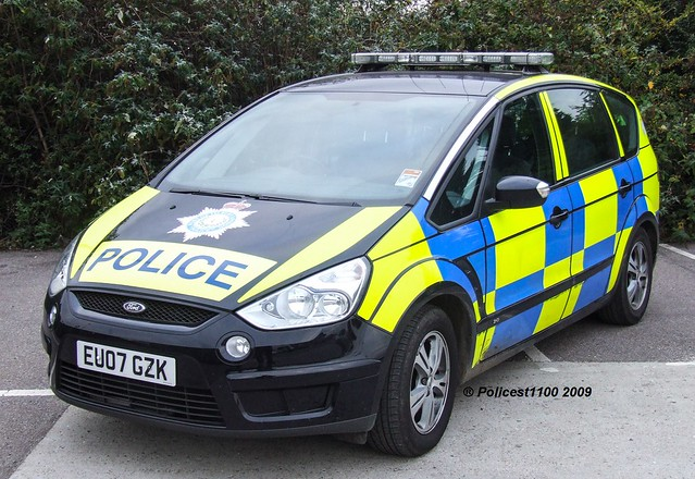 Port Of Tilbury Police Ford S-Max EU07 GZK