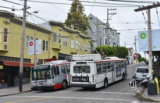MUNI 5428 and 5407- 18th and Connecticut - San Francisco - September 13, 2017  (3)