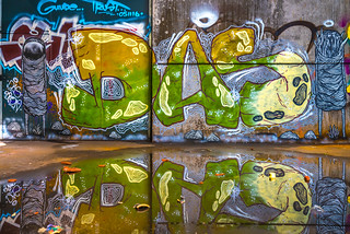 Graffiti Reflection | by Andreas Luft