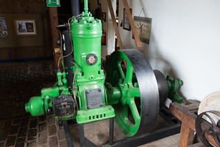 Motor driven by windmill