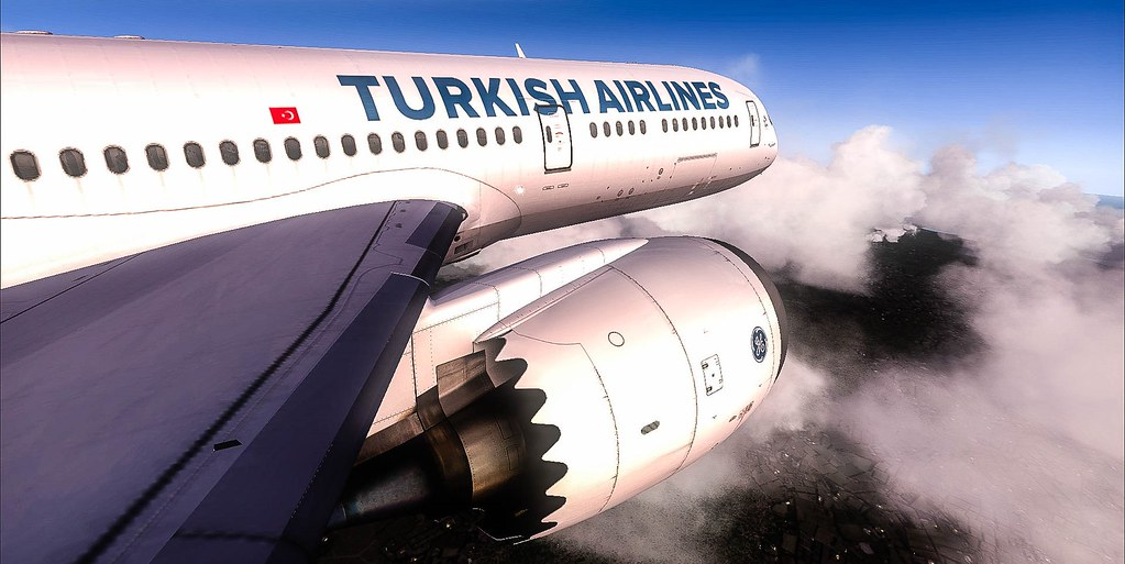 FSX | QualityWings Boeing 787-9 Turkish Airlines | (HCMM) Mo