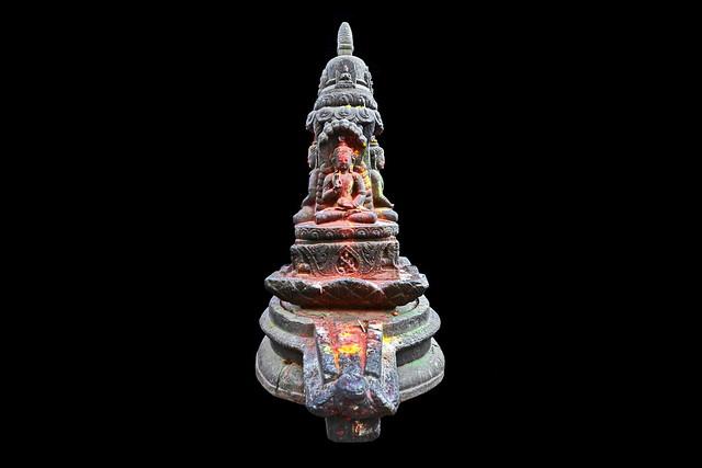 Nepal - Kathmandu - Durbar Square - Shiva Lingam At Kasthamandap Temple - 1d