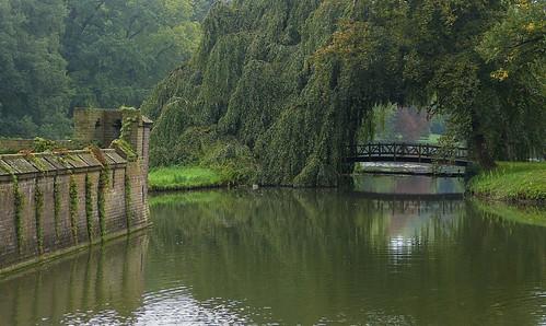 1360112 panasonicdmcfz150 dehaar haarzuilens utrecht nederland netherlands holland park tuin garden brug bridge gracht moat reflections