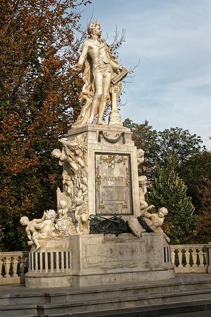 Wien, Burggarten, W.A.Mozart