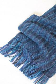 Королевский синий бахрома